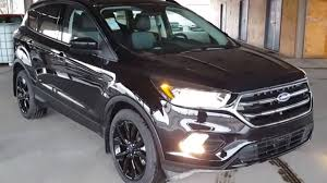 ford escape 2017 black ford escape 4wd se review prince george motors youtube