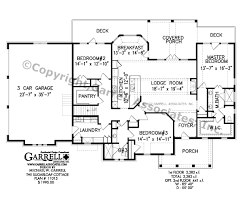 Rustic Cabin Plans Floor Plans Sugarloaf Cottage House Plan Covered Porch Plans