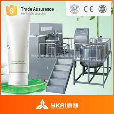 vacuum emulsifying machine paint color mixing machine heating
