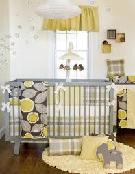 Zig Zag Crib Bedding Set Nursery Beddings Purple Yellow And Gray Crib Bedding With Gray