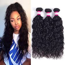 sew in unprocessed human hair brazilian water wave sew in soft and thick