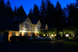 Landscape Lighting Plan Nighttime And Curb Appeal Go Together With Seattle Landscape
