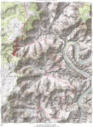 Map Of Moab Utah by White Rim Trail