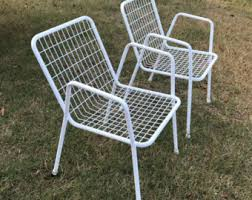 Old Metal Outdoor Furniture by Old Fashioned Metal Lawn Chairs Interesting Image Of Retro Patio