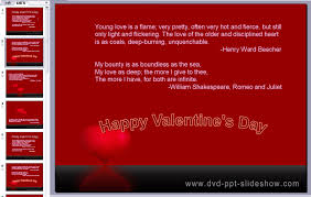 Valentine S Day Quotations Valentine S Day Words Valentines Day Romeo And Juliet Powerpoint Template