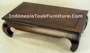 Bali Coffee Table Table Teak Wood Furniture Indoor Factory Indonesia