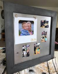 magnetic photo album pages how to make a magnetic scrapbook page display create and babble