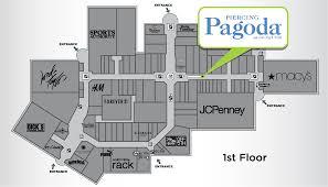 Map Of Destiny Usa by Piercing Pagoda Destiny Usa