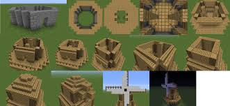 Farm Blueprints How To Build A Windmill In Minecraft Minecraft Guides