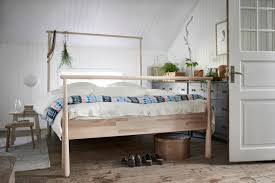 cabin worthy furniture collections from ikea gjora bed frame
