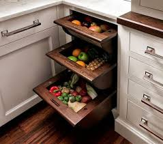 pull out kitchen storage ideas smart kitchen storage pull out basket drawers for fruits