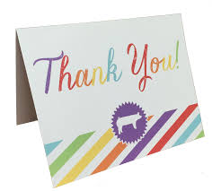 show pig thank you notes set of 8 stock show sweethearts