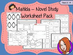 matilda nice characters vs nasty characters worksheet stories