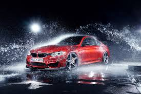 red bmw m4 photo bmw m4 coupe f82 by ac schnitzer export version red spray cars