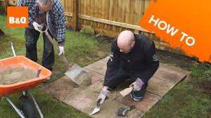 how to lay pavers for a patio how to lay a shed base youtube