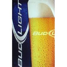 bud light metal sign bud light logo and pint glass metal sign the beer gear storethe