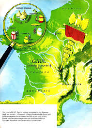 Map Of Brittany France by Map Of Gaul 50bc Asterix The Gaul Pinterest