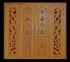 mandir door design for home bedroom and living room image