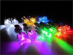 led earrings rainbow led earrings
