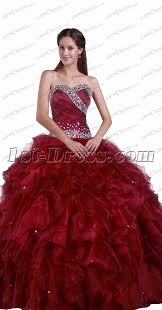 burgundy quince dresses new sweetheart quinceanera dresses burgundy 1st dress