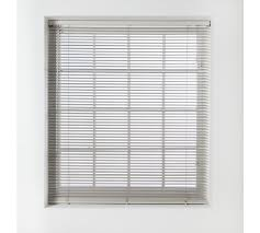 buy home wood venetian blind 4ft grey at argos co uk your