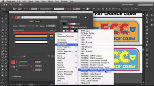 Pantone Colors by Adobe Illustrator Cc 2014