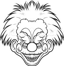 clown coloring pages coloringsuite com