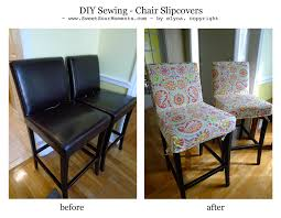 diy sewing chair slipcovers sweetsourmoments
