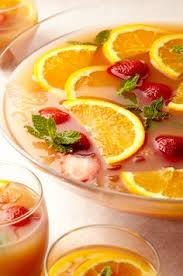 easy thanksgiving recipes cranberry punch wine chiller and