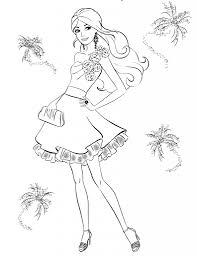 barbie coloring pages 5 u2013 coloringpagehub