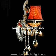 single bulb royal court crystal chandelier led wall lights with