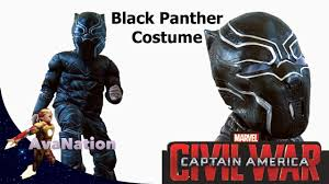 halloween costumes captain america black panther captain america civil war kid costume and a donut
