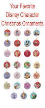 bwmedia designs disney characters christmas tree ornaments