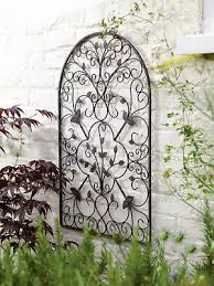 decorative metal arch wall sculpture decoration for