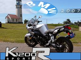 bmw sport motorcycle 2007 bmw k1200r sport bike test motorcycle usa