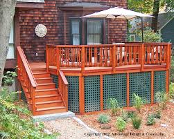 square lattice natick u2013 suburban boston decks and porches blog