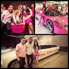 Teh Zaitun wow this malaysian socialite got a pink for birthday