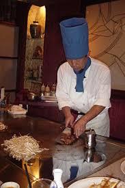 japanese restaurant cook at table teppanyaki wikipedia