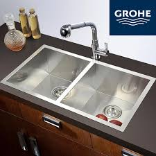grohe kitchen sink faucets discount grohe torneira cozinha kitchen and cold copper mixer