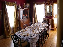 adorable victorian dining room design ideas including white vinyl