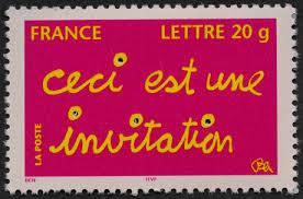 timbre poste mariage la poste