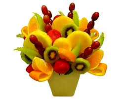 fruit flower arrangements flowerandballooncompany archive fruit bouquet mix