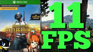 pubg xbox one x vs pc pubg has severe frame rate issues on xbox one and x youtube