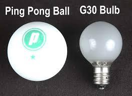 clear g30 5 watt replacement lamps novelty lights inc