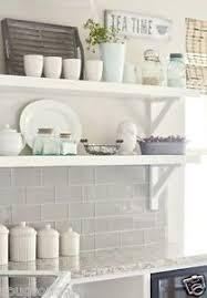 Grey Metro Bathroom Tiles New York Gloss Pale Grey Flat Metro Victorian Brick Kitchen Wall
