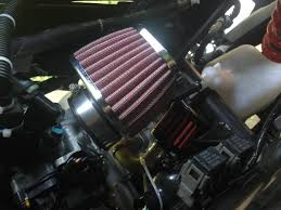 how to put a conical air filter on a honda cbr125r monocilindro