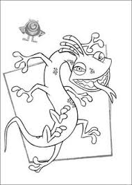 sulley coloring page mike and sulley are a perfect partner in monsters inc coloring