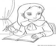 coloriage princesse dessin à imprimer gratuit