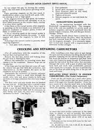 early johnson service manual