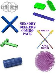 Desk Buddy Sensory Seekers Combo Pack Includes Chewy Tubes The Ultimate